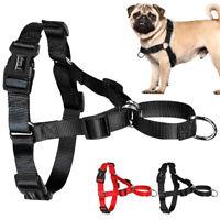 Nylon No Pull Dog Harness for Medium Large Dogs Bulldog Pitbull Boxer Rottweiler
