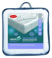 Tontine Comfortech Quilted Waterproof Mattress Protector- ALL Sizes