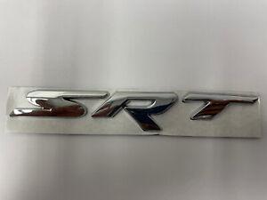 2011-2018 Jeep Grand Cherokee Chrome SRT Logo Emblem Nameplate Badge Mopar