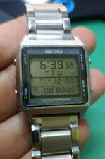 VINTAGE RARE SEIKO DIGITAL RUNNING MAN A714-5060 LCD CHRONOGRAPH WATCH