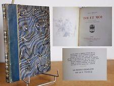 Toi et moi Paul Géraldy 1924 EO  Les éditions G. Gres Édouard Vuillard