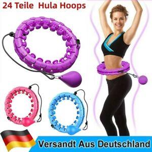 Smart Hula Hoop Einstellbar Fitness Massagenoppen Bauchtrainer Gymnastikreifen