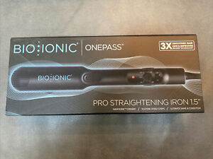 Bio Ionic Onepass Hair Straightener - Black