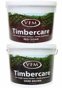 VFM Fence Shed Timber Exterior Wood Paint Quick Dry Water Based Timber WoodCare