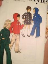 Sewing Pattern No 4802 Style Childs Coat or Anorak & Trousers Size 2 Cut