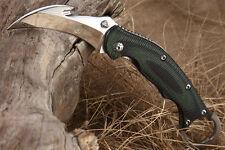 New TwoSun Mirror 420J2 Blade G-10 Karambit Folding Pocket Claw Knife Ts-Mb-03