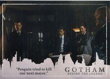 Gotham Season 2 Penguin Parallel Base Card #25 ?Penguin tried to kill our next