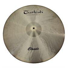"""TURKISH CYMBALS Becken 22"""" Ride Classic bekken cymbale cymbal 3767g"""