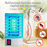 LED Electric Mosquito Fly Bug Indoor Insect Night Lamp Trap Zapper Killer WIND