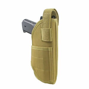 Tactical MOLLE Pistol Holster Universal Vertical Belt Mount Holster