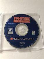 Fighters Megamix Sega Saturn DISC ONLY 1997 TESTED