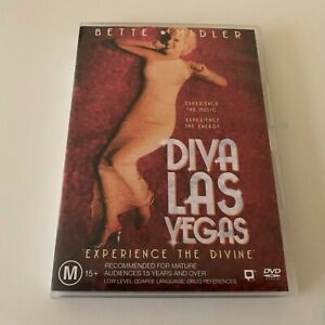 BETTE MIDLER DIVA LAS VEGAS DVD EXPERIENCE THE DIVINE LIVE SHOW CONCERT GIG RARE