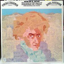 HAROLD IN ITALY * BERLIOZ LP (1977) DANIEL BARENBOIM ORCH. DE PARIS ZUKERMAN NM-