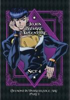 Jojo's Bizarre Adventure Set 4: Diamond is Unbreakable Part 1 (DVD,2019)