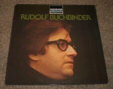 Rudolf Buchbinder Self-Titled~1977 German Import Classical~FAST SHIPPING!!!