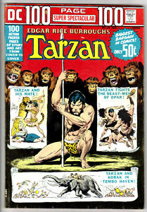 DC 100 PAGE SPECTACULAR #19 TARZAN (FN+) Joe Kubert Art! Edgar Rice Burroughs