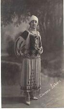 Romania 1930s Eleonora Lohan in Folk Costume,ph-pc by Siegmund Packer Iasi