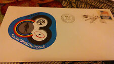 1973 Skylab Carr Gibson Pogue  Kennedy Space Center FL cover stamp  FDC