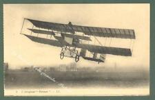 AVIAZIONE. Aeroplano Forman. Cartolina d'epoca non viaggiata, circa 1915.