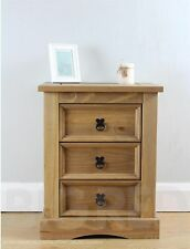 Corona Bedside Tables & Cabinets with 3 Drawers