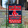 Boston Red Sox 9-Time World Series Champions Garden Flag and Yard Banner