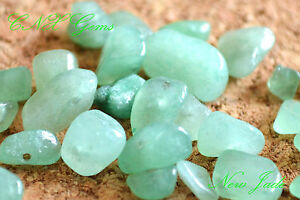 Crystal Gems 5g New Jade Chipstones with Holes for DIY Hand Craft Jewellery