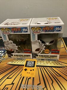 Funko Pop! Naruto Shippuden Kakashi (Anbu) #994 + Chase Bundle In Stock Mint