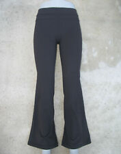 Lululemon Yoga Flare Pants Sz 4 Workout Trousers Black