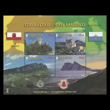 "Gibraltar 2010 - Tourism ""Joint Issue w/ San Marino"" Architecture - Sc 1237 MNH"