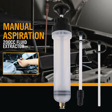 200cc Cars Oil Fluid Extractor Filling Syringe Bottle Transfer Hand Pump Tools