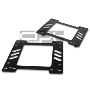 Fit 78-88 Chevy Monte Carlo X2 Performance Racing Seat Mount Bracket Adapter L+R