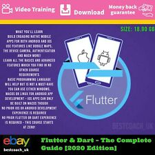 Flutter & Dart – The Complete Guide [2020 Edition] - Video Training