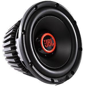 """JBL Stadium 1024 1350W 10"""" Stadium Car Audio Subwoofer Open Box (Complete)"""