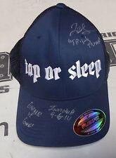 Tonya Evinger Signed Invicta FC 8 Fight Worn Used Walkout Hat PSA/DNA COA UFC