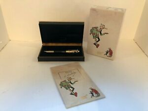 MONTBLANC WRITERS EDITION CARLO COLLODI PINOCCHIO ROLLERBALL PEN ORIGINAL BOX
