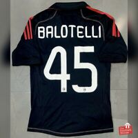 Authentic Adidas AC Milan 2012/13 Third Jersey - Balotelli 45. Size S, Exc Cond.