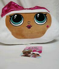 L.O.L. Surprise Diva Character Soft Plush Cuddle Pillow White/Pink