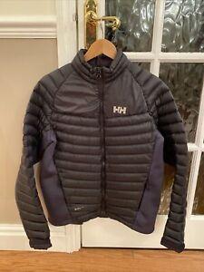 Helly Hansen Mens Verglas Hybrid Insulator Jacket Quilted Coat Black RRP £140