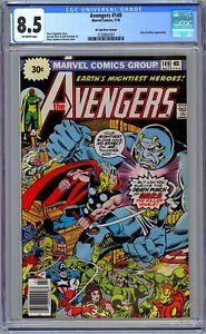 Avengers #149 CGC 8.5 (July 1976, Marvel) 30 Cent Price Variant.  George Pérez.