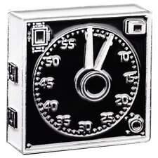 GraLab Model 300 Electro-Mechanical Darkroom Timer Clock Enamel Pin