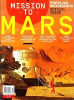 POPULAR MECHANICS MAGAZINE SPECIAL MISSION TO MARS NASA 2018 NEW FREE SHIPPING..