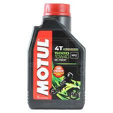 Motul 5000 10W-40 4 Stroke Motorcycle Motorbike Engine Oil 10W40 1 Litre 1L