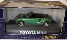 Ebbro 1/43 - Toyota MR-S green