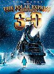 The Polar Express (DVD, 2008, 2-Disc Set, 3-D) New/Sealed Free US Shipping