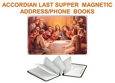 Accordion Magnetic Phone Book-Last Supper