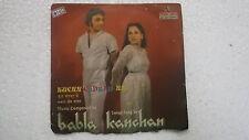 """BABLA KANCHAN  KUCH GADBAD HAI rare SINGLE 7"""" 45RPM INDIA INDIAN 124 VG+"""