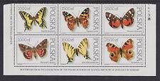 Poland- 1991 Butterflies Set (6) - SG3369/74 - UHM - #150007