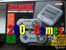 Super Nintendo SNES Mini SNES Classic with 200+ Extra games UK SELLER FAST POST