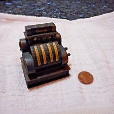 Play Me National Cash Register Miniature Copper Pencil Sharpener