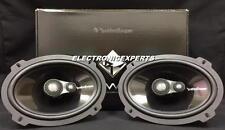 """ROCKFORD FOSGATE POWER T1693 6 x 9"""" 3-Way HARLEY Speakers Aluminum Dome Tweeters"""